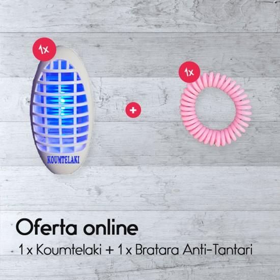 1 x Koumtelaki + 1 x Bratara Anti-Tantari