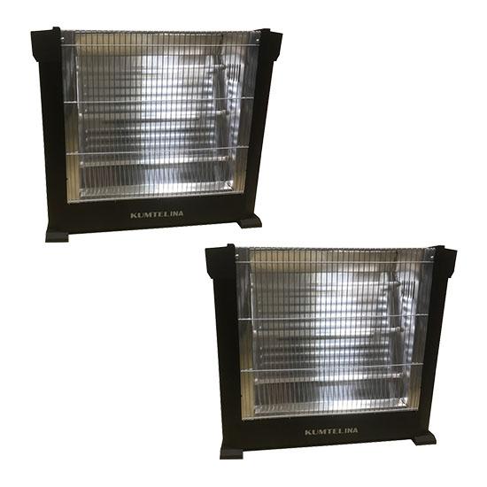 Pachet 2 Radiatoare electrice Kumtelina 1800W - radiator electric