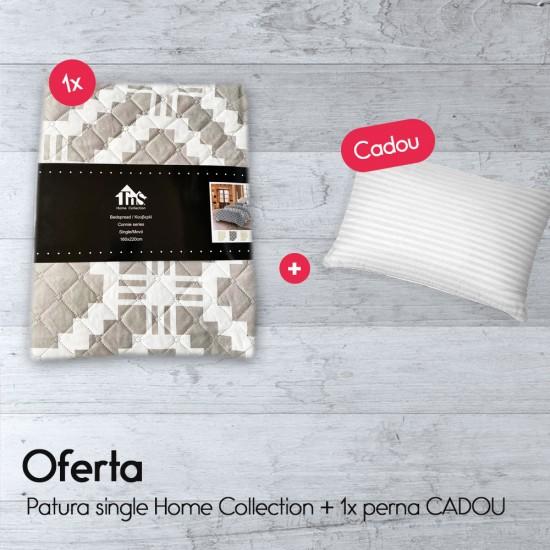 Patura single Home Collection + 1x perna CADOU