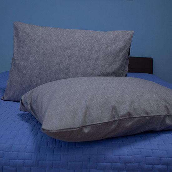 Pachet 2x Bottega Home Bamboo Pillow Memory Foam + 2x Fete de perne cadou