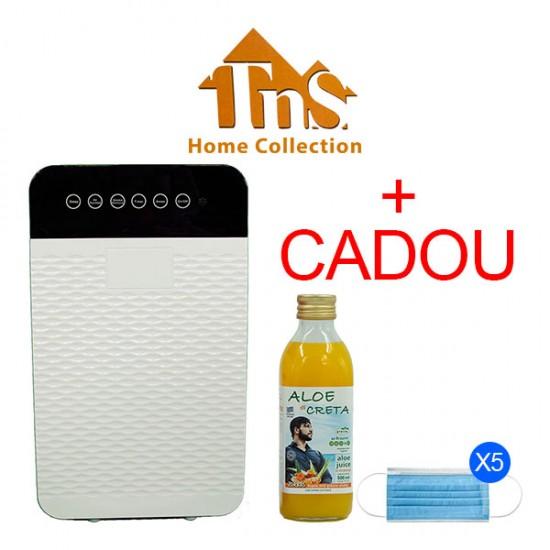 Purificator de aer HOME COLLECTION + 1x Aloe di Creta Curcuma 500ml si 5 Masti de Protectie Cadou
