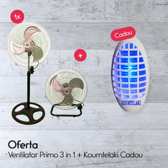 Ventilator Primo 3 in 1 + Koumtelaki Cadou